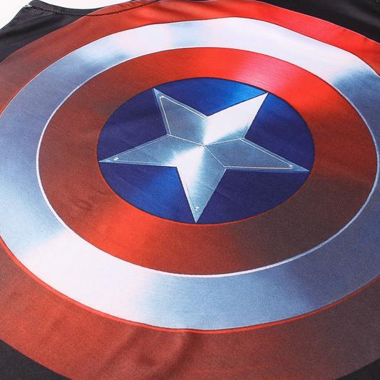 Captain America Tank Top