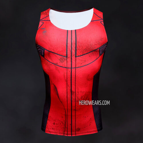 464f674c862cc Deadpool Tank Top - HeroWears.com - Premium Superhero Compression T ...