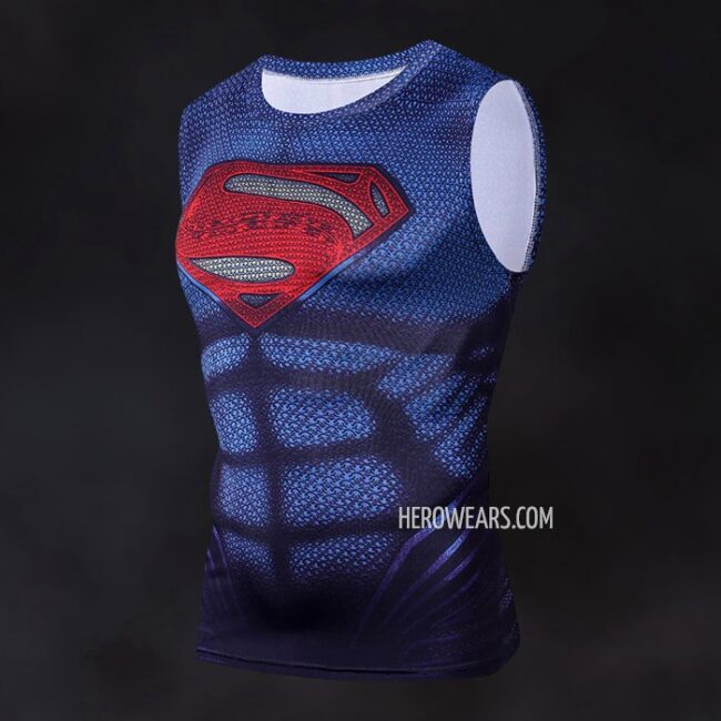 1a65be939effd Man of Steel Tank Top - HeroWears.com - Premium Superhero ...