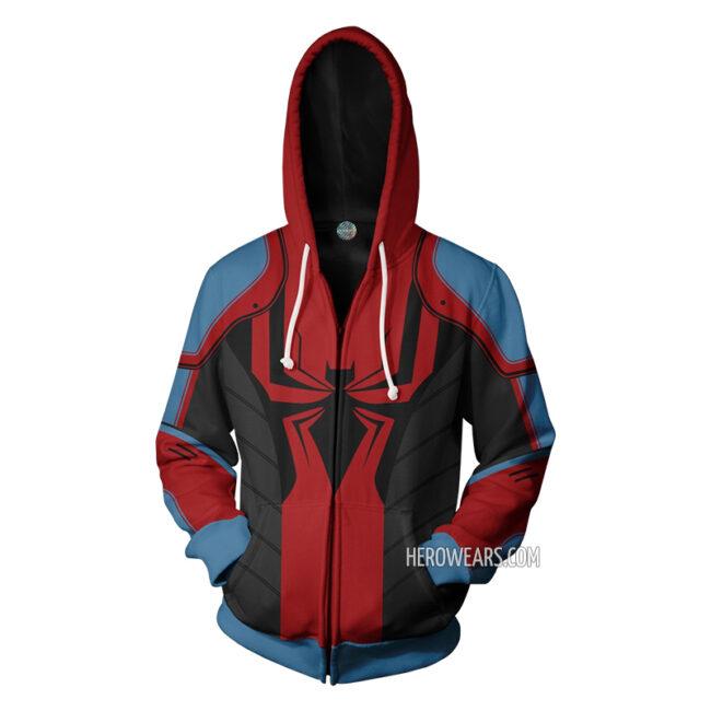 Spider Man Armor MkIII Zipper Hoodie