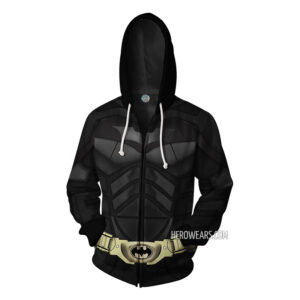 Batman Zip Up Hoodie