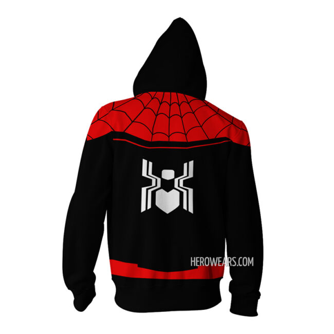 Spider Man Far From Home Zip Hoodie