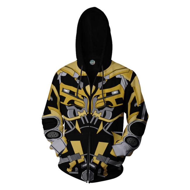 Bumblebee Zip Up Hoodie