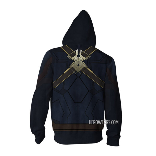 Captain America Infinity War Zip Up Hoodie