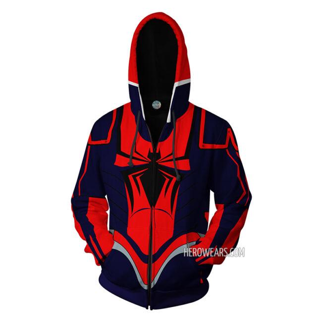 Spider Man Armor MKIII Hoodie