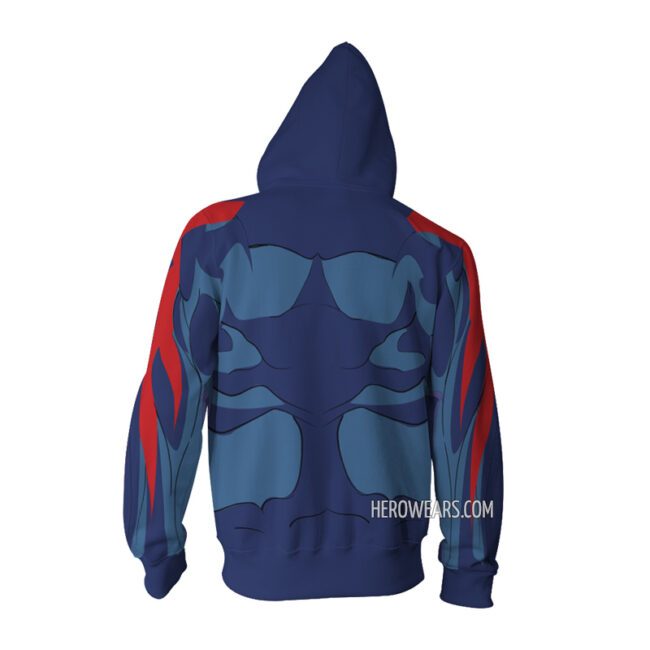 Spider Man 2099 Zip Up Hoodie