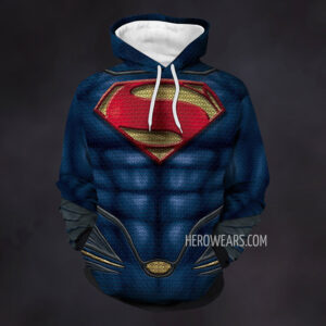 Superman Man of Steel Hoodie