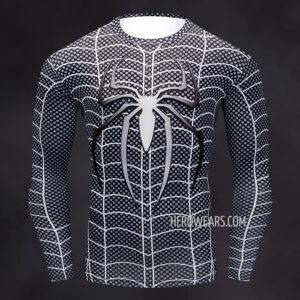 Armored Spider Man Compression Shirt Rashguard