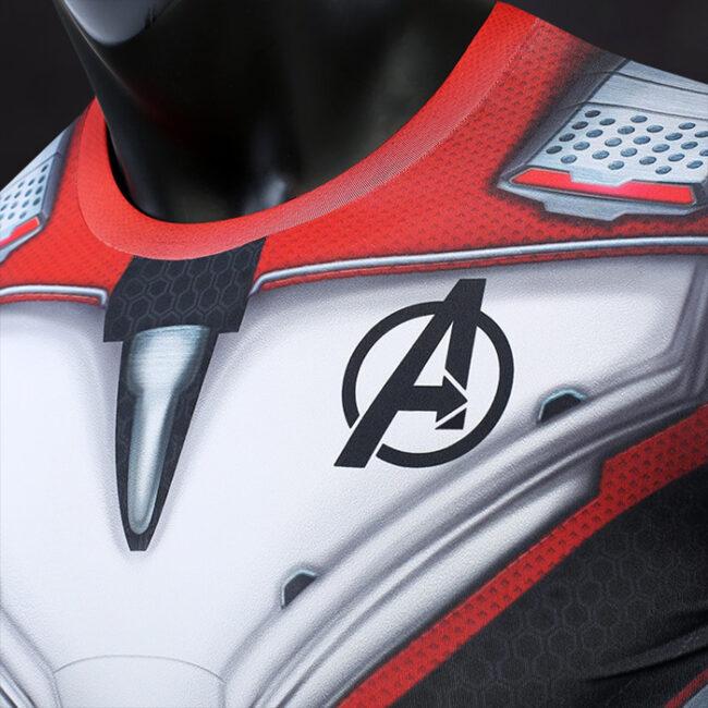 Avengers Endgame Quantum Realm Compression Shirt Rashguard
