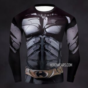 Batman Dark Knight Compression Shirt Rashguard