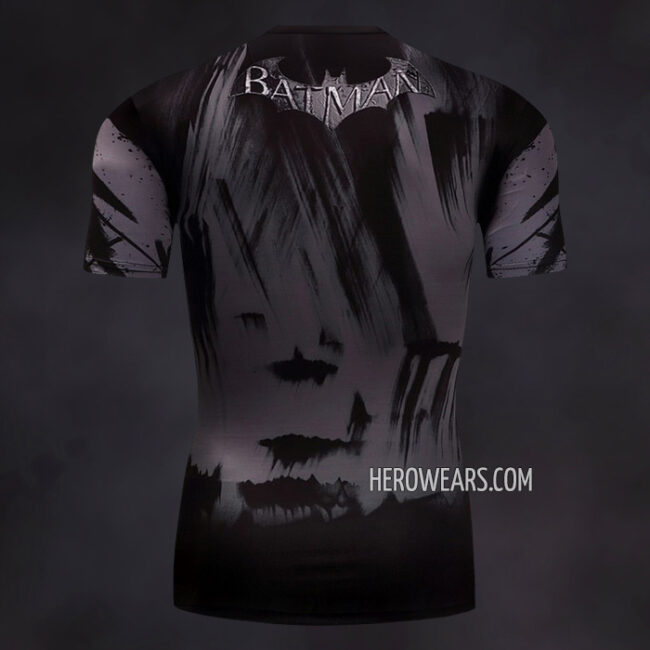 Batman Dark Knight Compression Shirt Rashguard