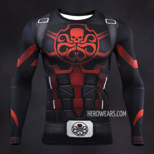 Captain Hydra Compression Shirt Rashguard