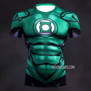 Green Lantern Comic Compression Shirt Rashguard
