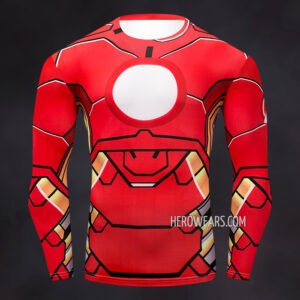 Iron Man Compression Shirt Rash Guard