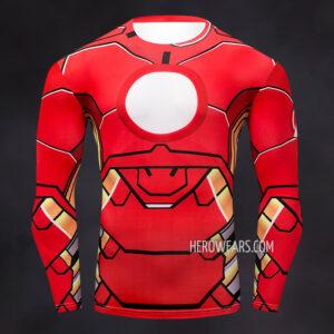 Iron Man Comic Compression Shirt Rashguard