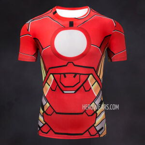 Iron Man Comic Compression Shirt Rashguard