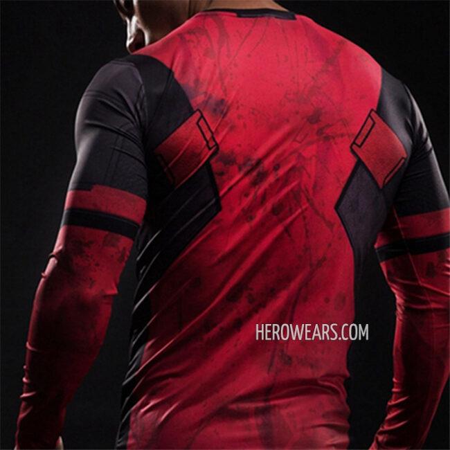 Deadpool Compression Shirt Rashguard