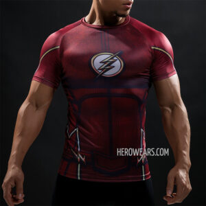 The Flash Compression Shirt Rashguard