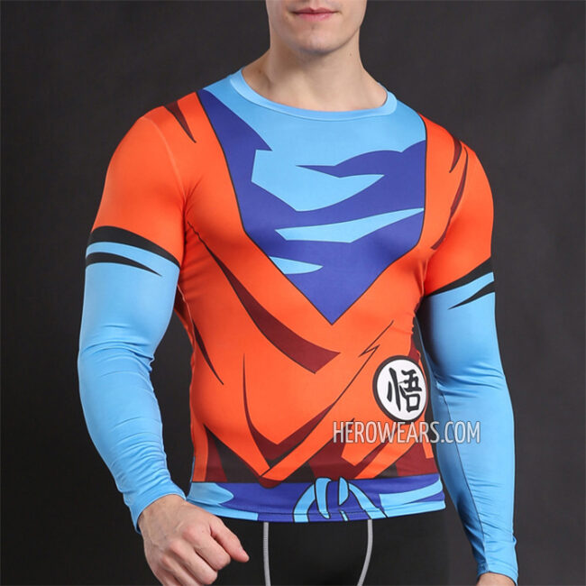 Goku Compression Shirt Rashguard