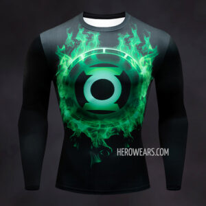 Green Lantern Compression Shirt Rash Guard
