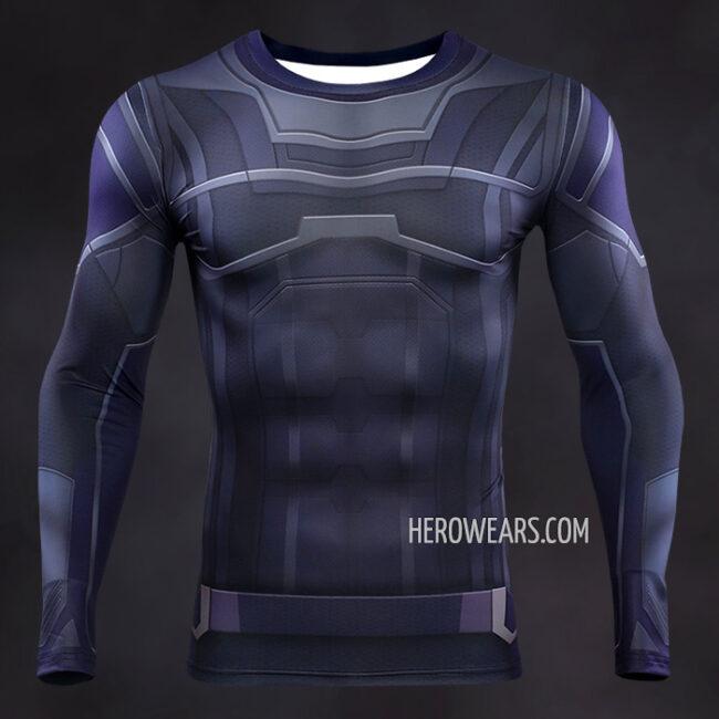 Hulk Compression Shirt Rashguard
