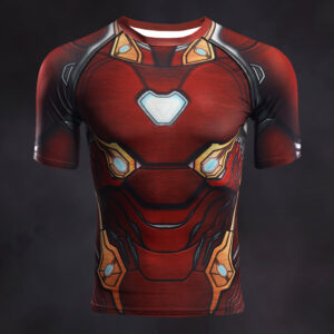 Iron Man Compression Shirt Rashguard