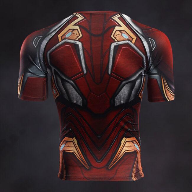 Iron Man Compression Shirt Rashguard