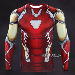 Iron Man Mk85 Compression Shirt Rashguard