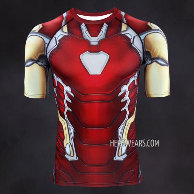 Iron Man Mk85 Compression Shirt Rashguard