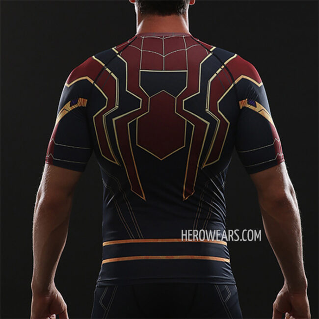 Iron Spider Compression Shirt Rashguard