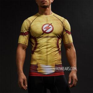 Kid Flash Compression Shirt Rashguard