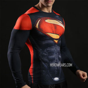Superman Compression Shirt Rashguard