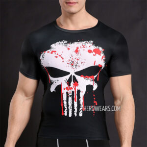 Punisher Compression Shirt Rashguard
