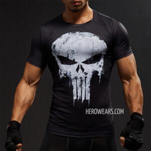 Punisher Compression Shirt Rashguard