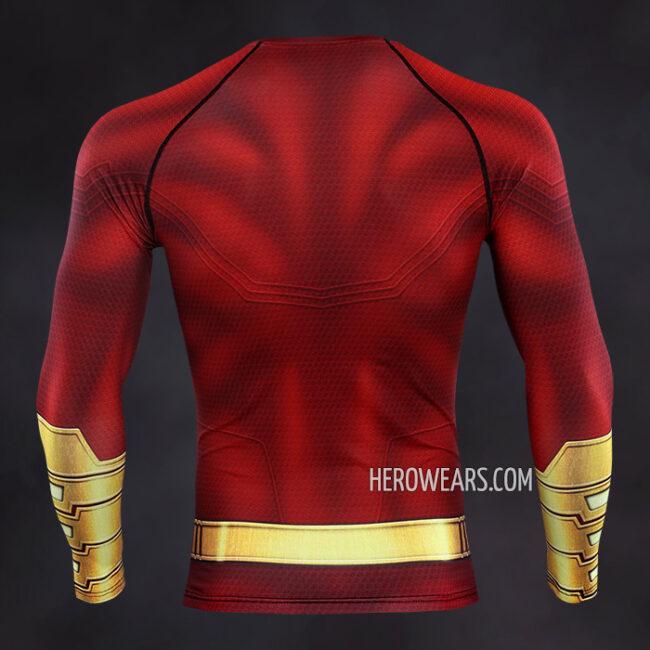 Shazam Compression Shirt Rashguard