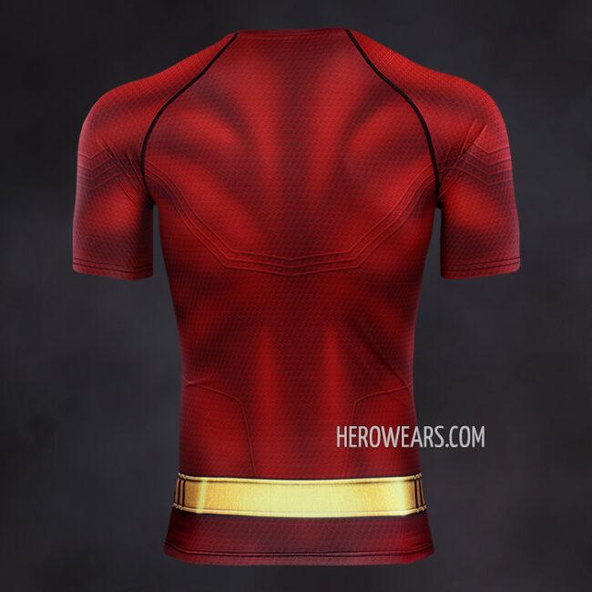 Shazam Compression Shirt Rash Guard