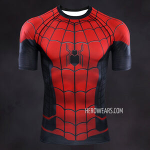 Spiderman Far From Home Compression Shirt Rashguard