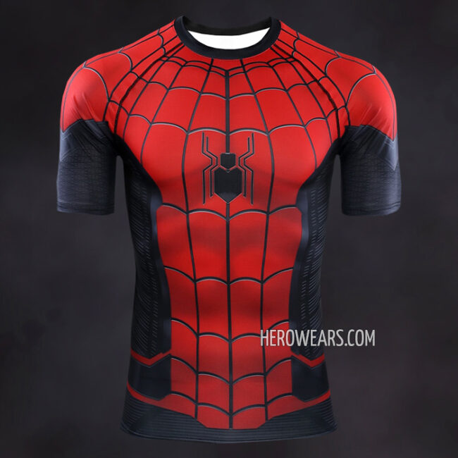 Spider Man Far From Home Compression Shirt Rashguard