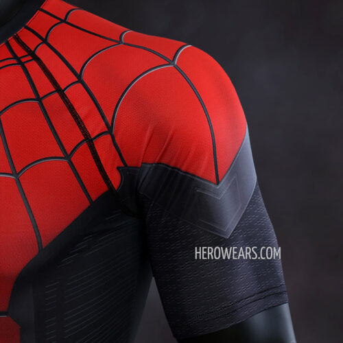 Spiderman Far From Home Compression Shirt Rash Guard
