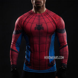 Spider Man Homecoming Compression Shirt Rashguard