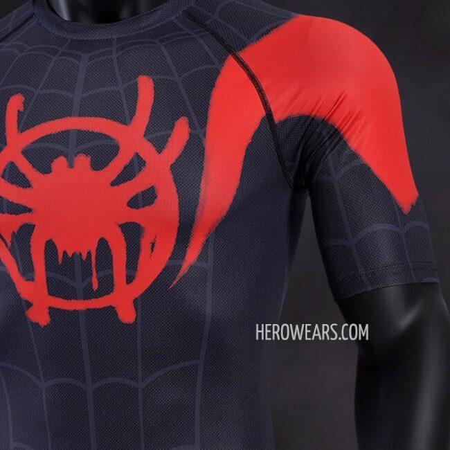 Miles Morales Compression Shirt Rashguard