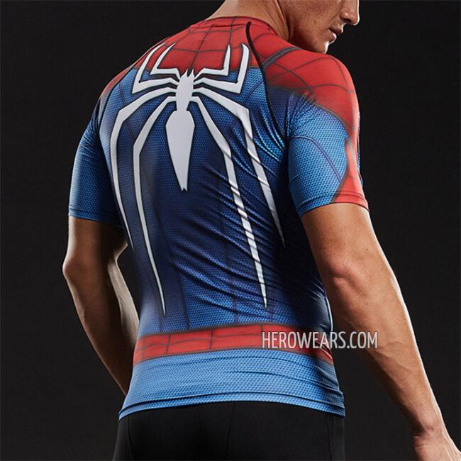 a2213ea3 ... Spider Man PS4 Insomniac Compression Shirt Rashguard