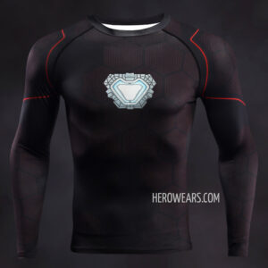 Iron Man Tony Stark Compression Shirt Rashguard