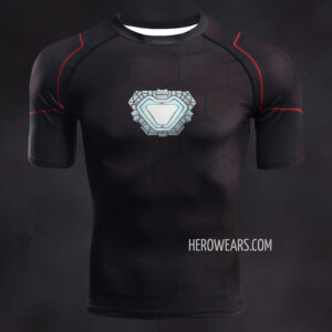 Iron Man Tony Stark Compression Shirt Rashguard