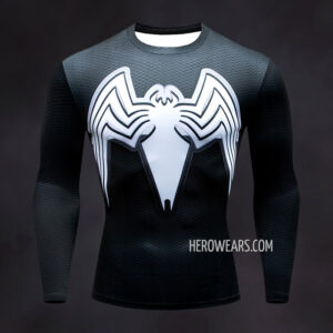 Venom Compression Shirt Rash Guard