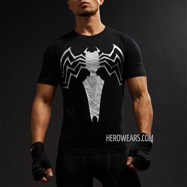 ad3f7de8a4 Venom Compression Shirt Short Sleeve Rashguard