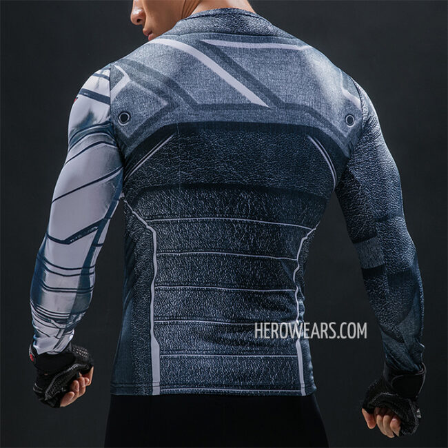 Winter Soldier Compression Shirt Rashguard