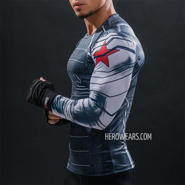 Winter Soldier Compression Shirt Rashguard