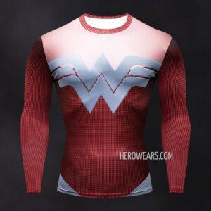 Wonder Woman Compression Shirt Rashguard