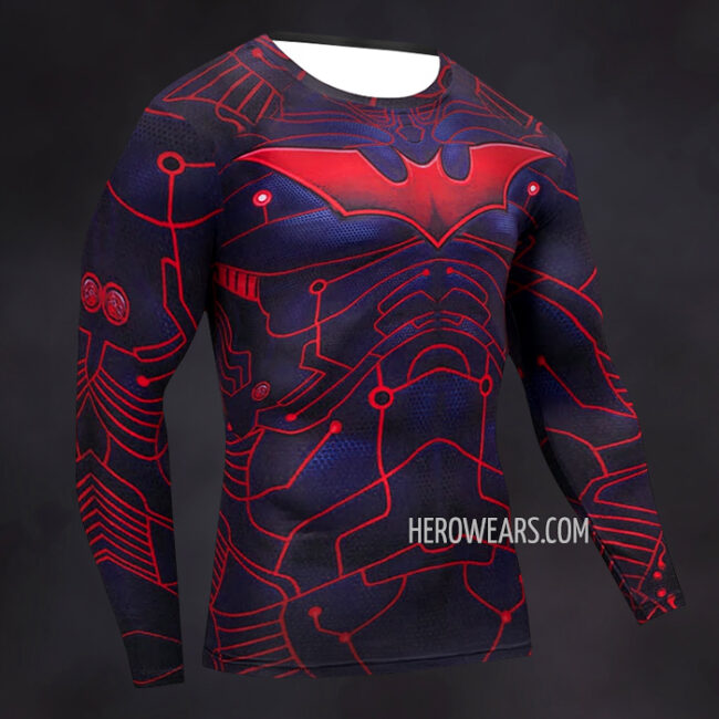 Batman Beyond Compression Shirt Rash Guard